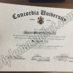 Build A Concordia University fake certificate You Can Be Proud Of