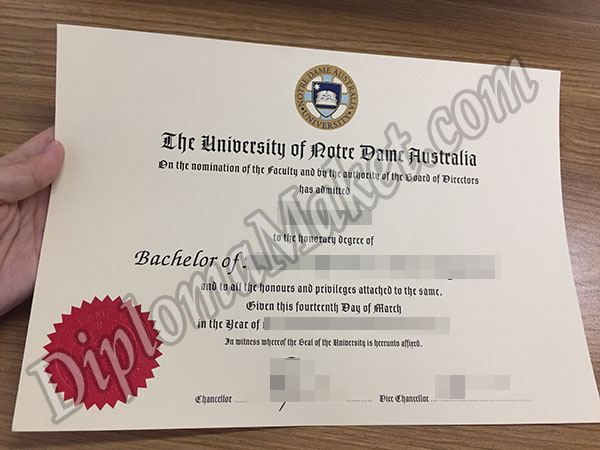 University Of Notre Dame Fake Certificate Famous Quotes