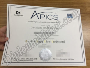 Don't Be Fooled By Other APICS fake diploma