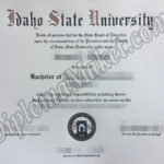 Learn the Fastest Way to Idaho State University fake certificate