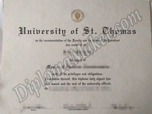 How To Get A Successful University of St. Thomas fake diploma