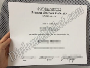 No More Mistakes With Lebanese American University fake diploma review