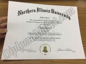 The history of Northern Illinois University fake diploma certificates